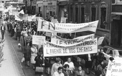 """50 jaar geleden begon de staking bij FN-Herstal: """"Gelijk loon voor gelijk werk"""""""