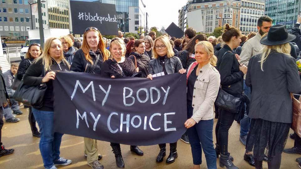 Van Ierland tot Polen : baas over eigen lichaam !