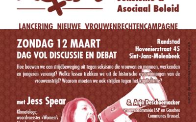 12 maart – Lancering nieuwe vrouwenrechtencampagne ROSA