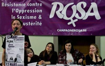 Campagne ROSA zet zich meteen op de kaart
