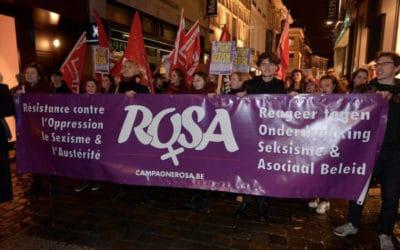 8 maart 2017 – Sterke mars tegen seksisme in Gent toont nieuwe beweging voor vrouwenrechten