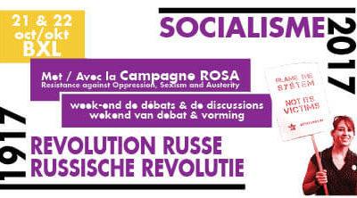 Campagne ROSA op Socialisme 2017 – 100 jaar Russische Revolutie