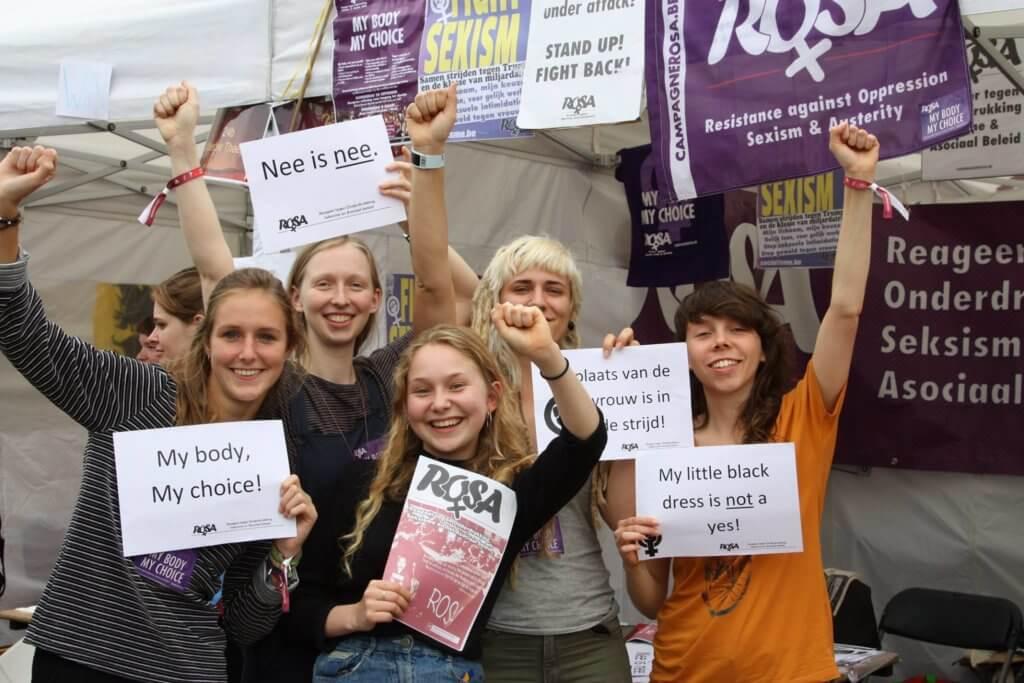 [8 maart 2018] De plaats van vrouwen is in de strijd!