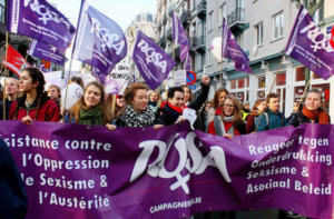 [25 november] Sterke betoging tegen geweld op vrouwen