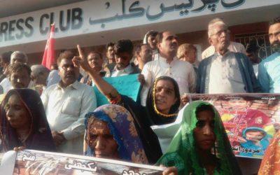 Pakistan – Stop violence against female organiser of Socialist Movement