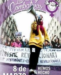 8 maart/Spanje : Historische actiedag tegen seksisme en geweld op vrouwen !