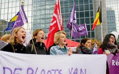Stop seksistisch geweld! Betoog mee met ROSA op 24 november