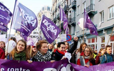25 november – Betoging stop geweld op vrouwen !