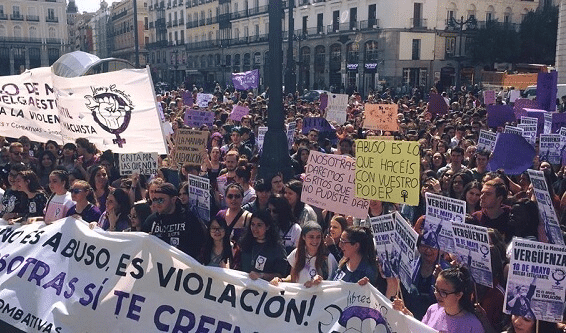 Spanje – Geslaagde jongerenstaking tegen seksisme