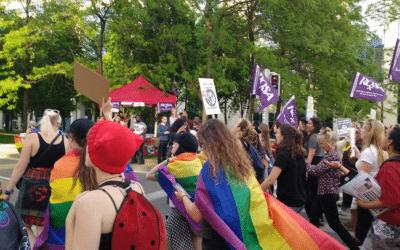Pride is a protest ! Strijd voor echte gelijkheid is nog steeds nodig !