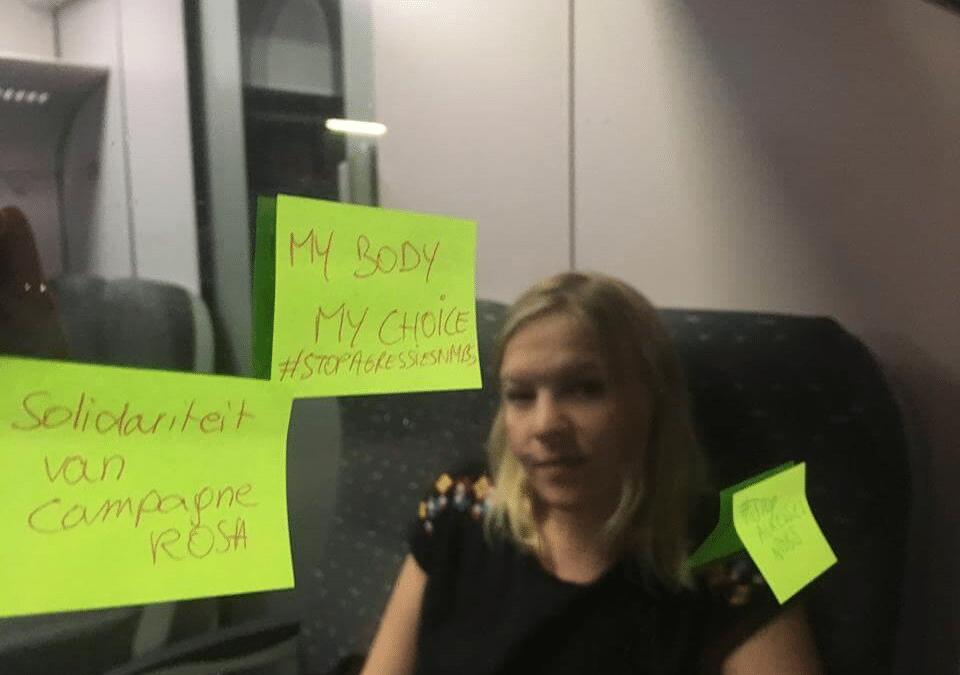 INTERVIEW – Stop agressie tegen personeel NMBS