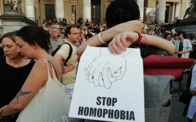 Geen acceptatie, geen recuperatie van LGBTQI-foob geweld !