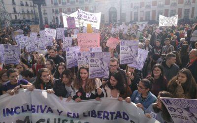Spanje – massale scholieren- en studentenstaking tegen seksisme en voor inclusief seksueel onderwijs