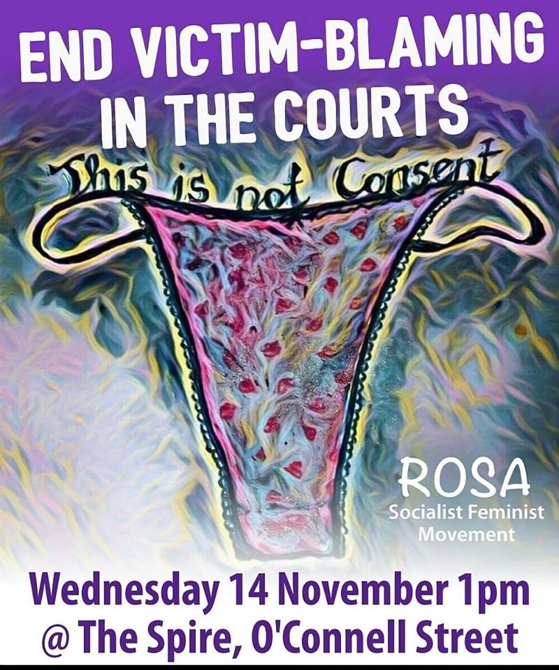 Ierland – Enorme verontwaardiging na victim-blaming in Ierse verkrachtingszaak: #ThisIsNotConsent
