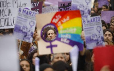 Vakbondssteun voor staking op internationale vrouwendag