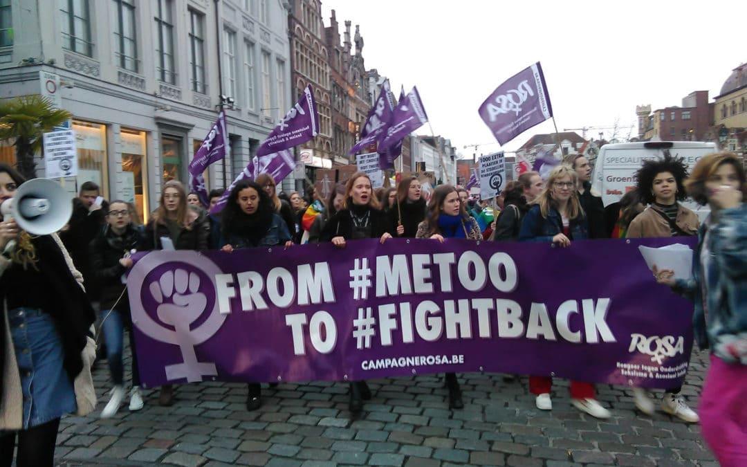 Strijd tegen deze seksistische samenleving! Verzet!