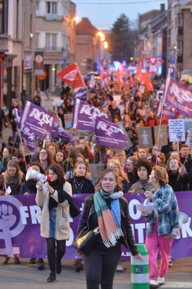 Internationale Vrouwendag : samen strijden tegen seksisme en asociaal beleid!