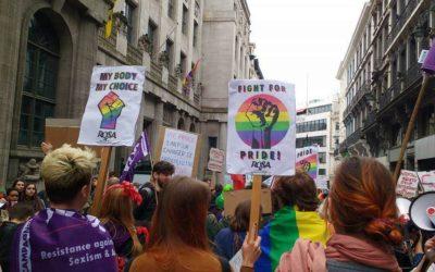Stop LGBTQI+fobie! Voor 'Pride is a Protest'-acties