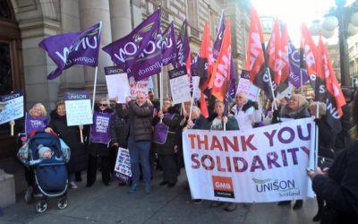 Internationale vrouwendag: strijden tegen lage lonen!