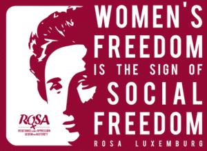 Geen kapitalisme zonder seksisme … Geen socialisme zonder feminisme !