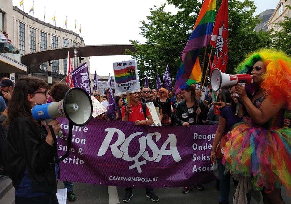 Brussel Pride 2019. Pride, not Profit