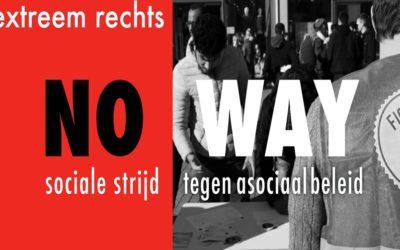 Antifascisten betogen tegen extreemrechts en de voedingsbodem ervan