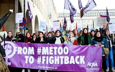 Seksistisch geweld neemt toe, protest is nodig
