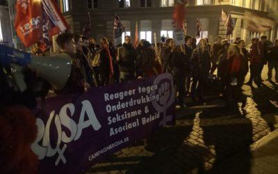 Succesvolle protestactie brengt extreemrechts in defensief