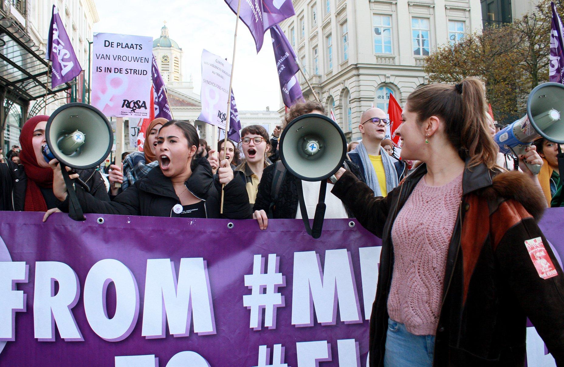 """Mai van Campagne ROSA: """"Woede tegen seksisme organiseren en omzetten in actie"""""""