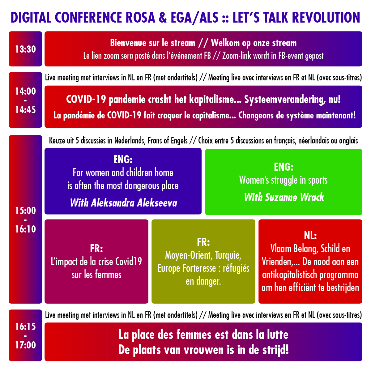 ZOOM IN ! 28-03 Digital Conference ROSA – ALS