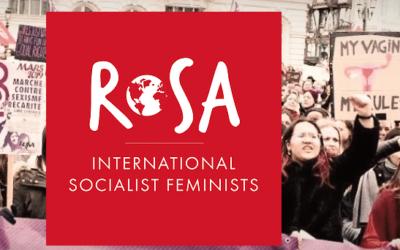 Lancering van een internationaal socialistisch feministisch netwerk ROSA