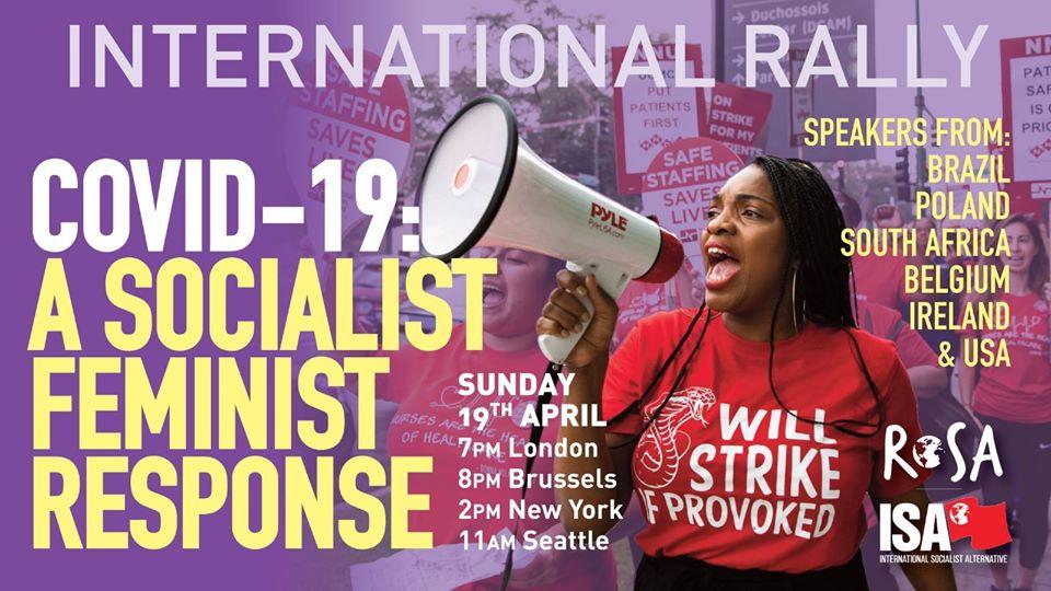 19 april – meeting Rosa Internationaal: een socialistisch feministisch antwoord op de covid-19-crisis