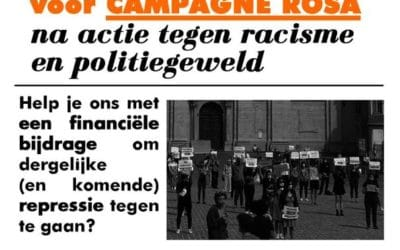 €700 GAS-boete voor protest tegen dodelijk racisme?