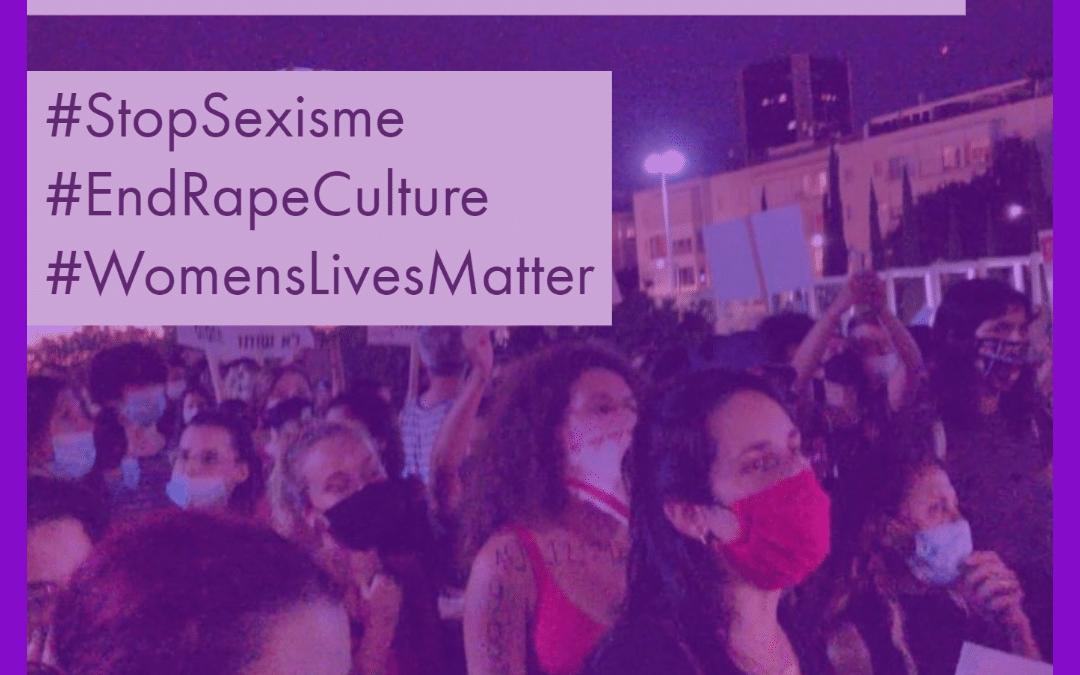 Israël. Grote mobilisaties na een geval van groepsverkrachting