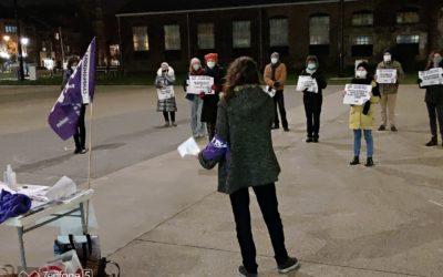 [Persbericht] Stad Leuven onderdrukt protest tegen geweld op vrouwen