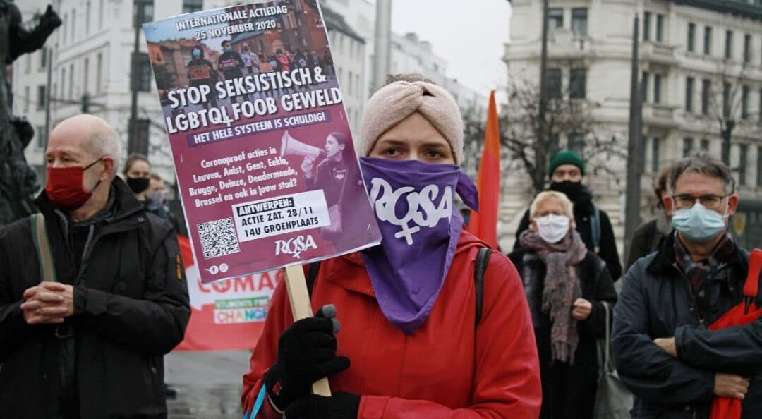 25N – we hebben socialistisch feminisme nodig tegen kapitalistisch geweld !