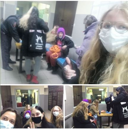 Internationale solidariteitsoproep na repressie tegen socialistische feministen in Moskou