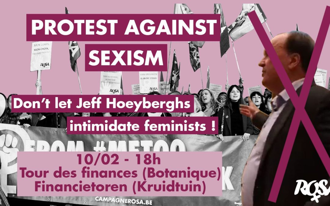 Stop the judicial intimidation of feminists by Hoeyberghs