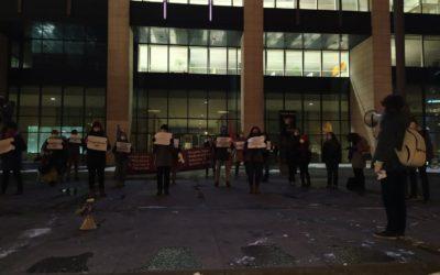 Acties in Gent en Brussel: Jeff Hoeyberghs wil feministen intimideren? Verzet!