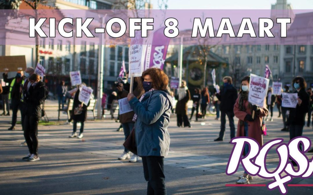 Let's get ready ! 8 Maart acties Campagne ROSA