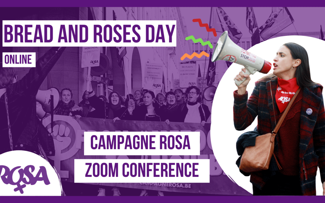 Bread and Roses Day – Nationale Conferentie van Campagne ROSA