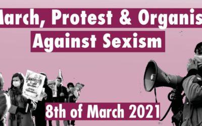 8 maart. Campagne Rosa organiseert Protestacties in 10 steden