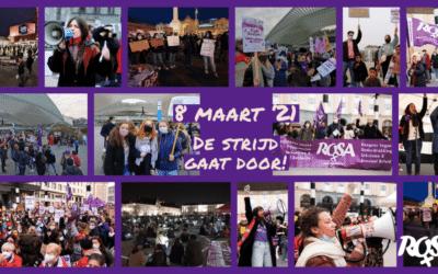 8M Antwerpen - De strijd voor hogere lonen is essentieel voor feministen