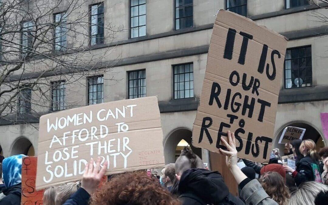 Protest na moord op Sarah Everard