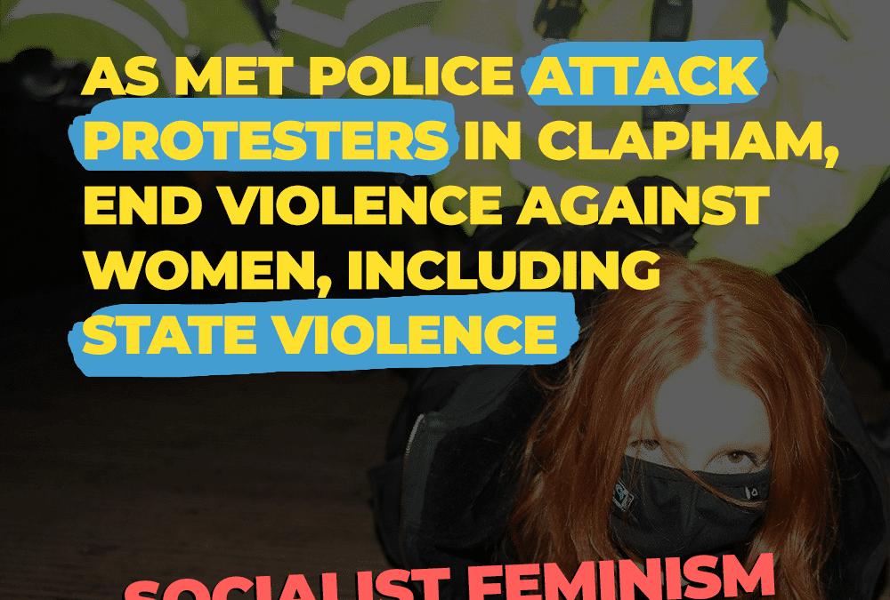 Verenigd Koninkrijk: Na de moord op Sarah Everard – laten we strijden tegen femicides en gendergerelateerd geweld