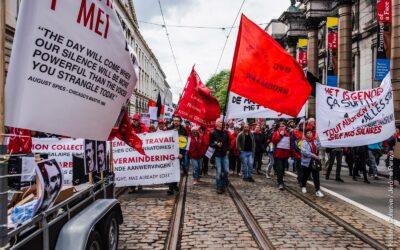 """ACOD LRB Brussel: """"Oproep voor een strijdbare Een Mei"""""""