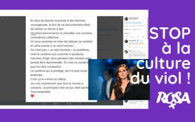 Franse sportjournalisten spreken zich uit tegen seksisme en de verkrachtingscultuur.