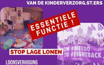 Solidariteit met alle verzorg.st.ers in strijd!