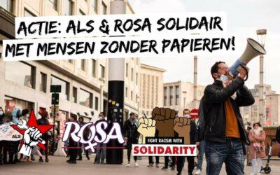 ROSA solidair met mensen zonder papieren!