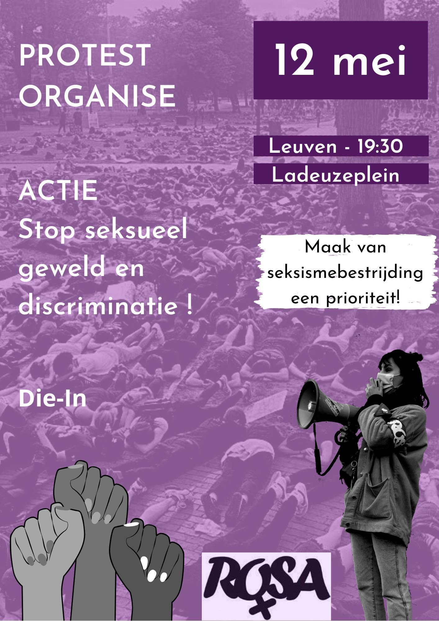 Actie : Stop seksueel geweld en intimidatie ! – Leuven